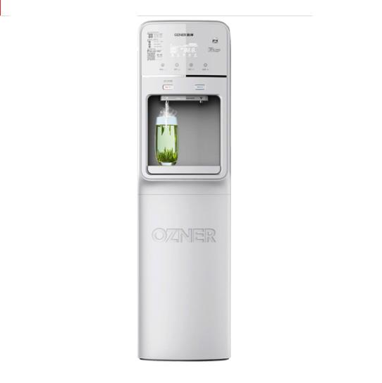 商用租赁立式冷热双出水带童锁净水器产品图片1
